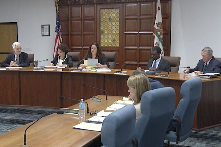 BOE panel discusses agenda item