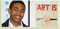 Hoover Student Wins 1st in Art Contest